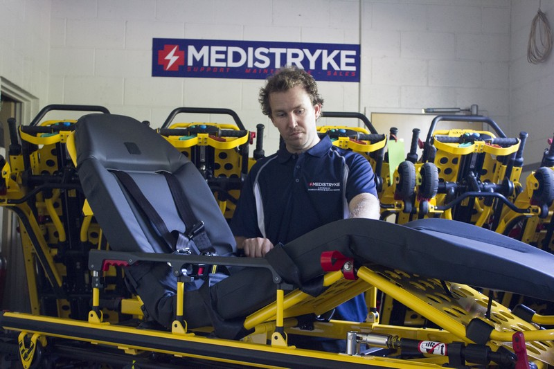 Medical Stretcher cleaning and servicing
